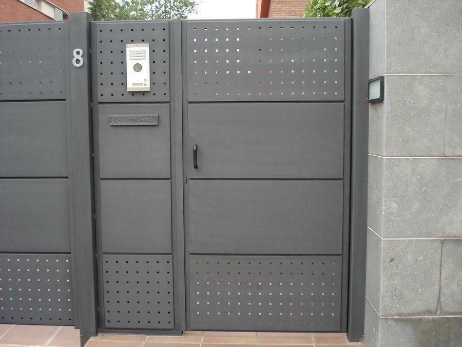 Ofertas De Las Mejores Puertas Metalicas Para Exterior E Interior - Fotos-de-puertas-metalicas-para-casas