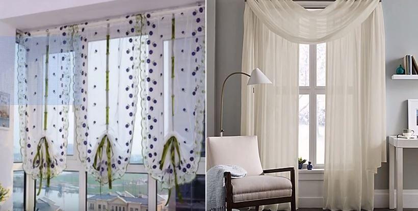 Cortinas Para Salon Con Muebles Oscuros.Cortinas Para Sala Modernas Y Sencillas Tendencias E Ideas
