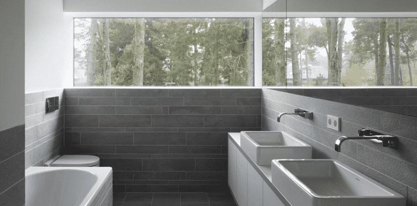ideas de tocador de baño para baños pequeños Baos Pequeos Modernos Y Funcionales Ideas Fotos Y Consejos